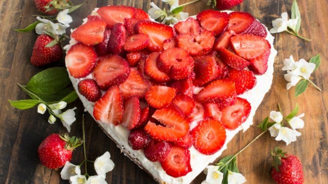 Receta de Tarta de San Valentín 2019