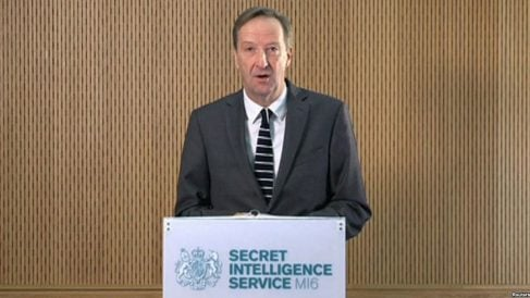 El jefe de la agencia de Inteligencia exterior de Reino Unido (MI6), Alex Younger.