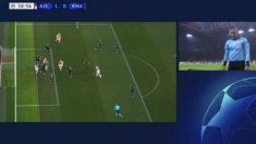 La UEFA explicó por qué el VAR anuló el gol del Ajax. (UEFA)