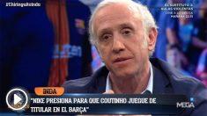 Coutinho juega por decreto en el Barcelona.