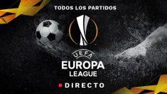 Europa League: Partido de fútbol hoy, en directo