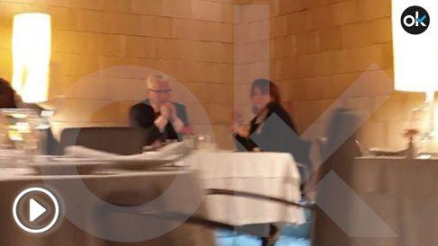 Dolores Delgado y Baltasar Garzón han disfrutado de una romántica comida en La Manduca de Azagra en Madrid