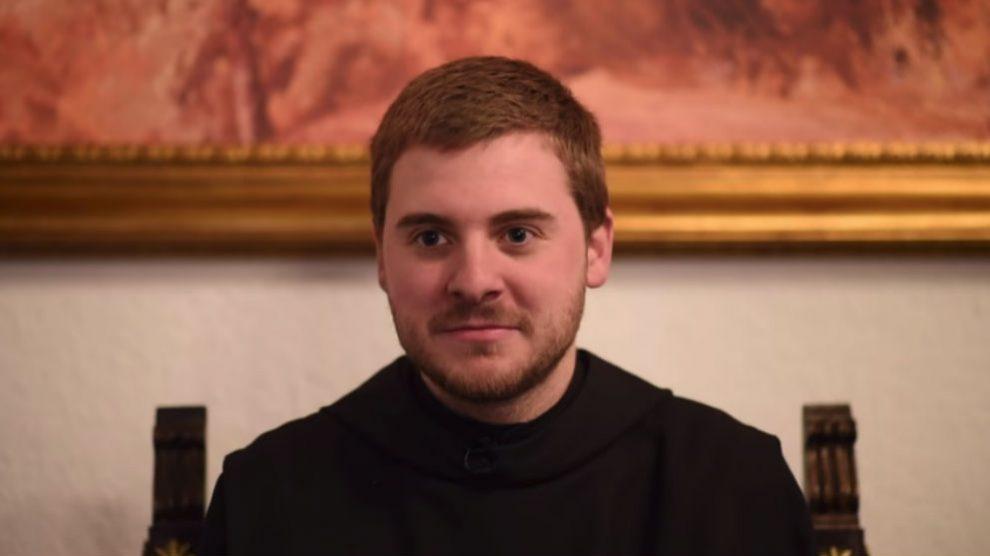 Fray Ignacio, monje benedictino.