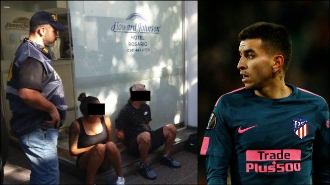 Detienen a la hermana del atlético Correa junto a un narco de la banda 'Los Monos'