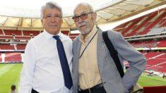 Manuel Briñas y Enrique Cerezo. (Atlético de Madrid)