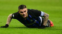 Mauro Icardi deja de ser el capitán del Inter de Milan. (AFP)