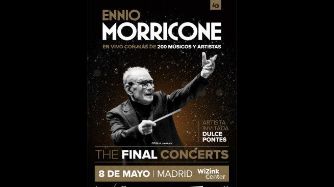 Ennio Morricone. Foto: Europa Press