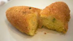 Receta de croquetas de patata al horno