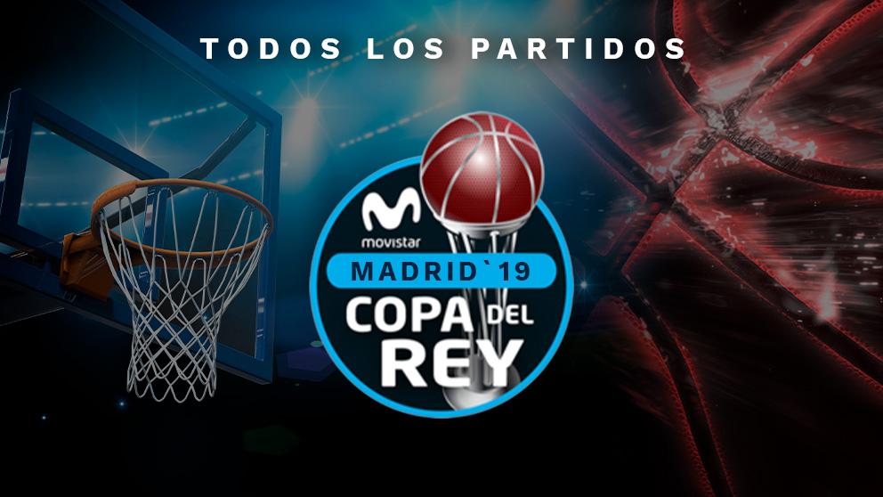 Copa del Rey baloncesto 2019: Horario y dónde ver los partidos de hoy, jueves 14 de febrero