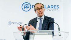 El presidente del PP vasco, Alfonso Alonso (Foto: EFE)