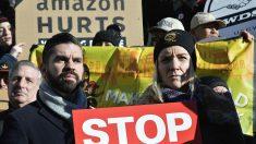 Protestas por Amazon
