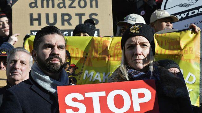 Amazon renuncia a ubicar una sede en Nueva York ante las críticas de movimientos izquierdistas