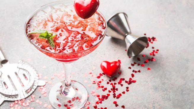 Cócteles de San Valentín para sorprender a tu pareja