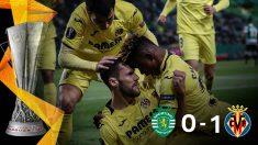El Villarreal ganó 0-1 al Sporting de Portugal.