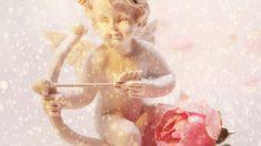 Cupido también vivió en su momento su propio idilio de amor.