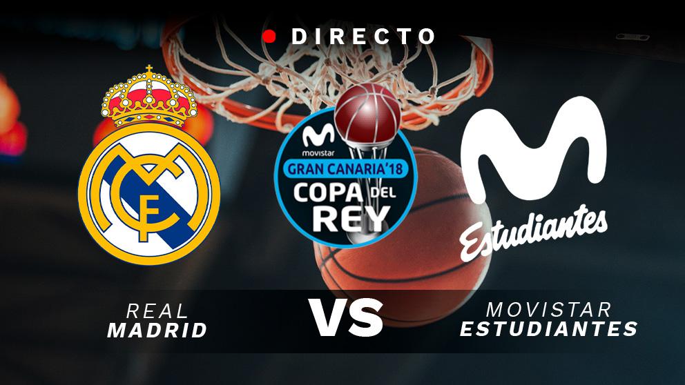 Copa del Rey 2019: Real Madrid – Movistar Estudiantes | Horario del partido de baloncesto de la Copa del Rey 2019.