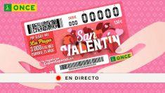 Comprobar el resultado del Sorteo de San Valentín de la ONCE 2019.