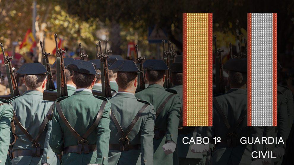 El director de la Guardia Civil agravia a los cabos con un distintivo confuso en la uniformidad
