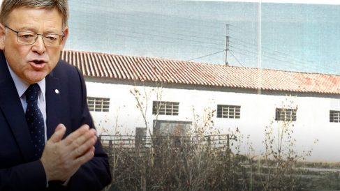 Nave rural propiedad del padre de Ximo Puig
