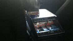 Surtido de productos en un coche de Cabify que opera en Madrid (Foto: C.M.)