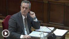 Joaquim Forn durante el juicio del 'procés'. Foto: EP