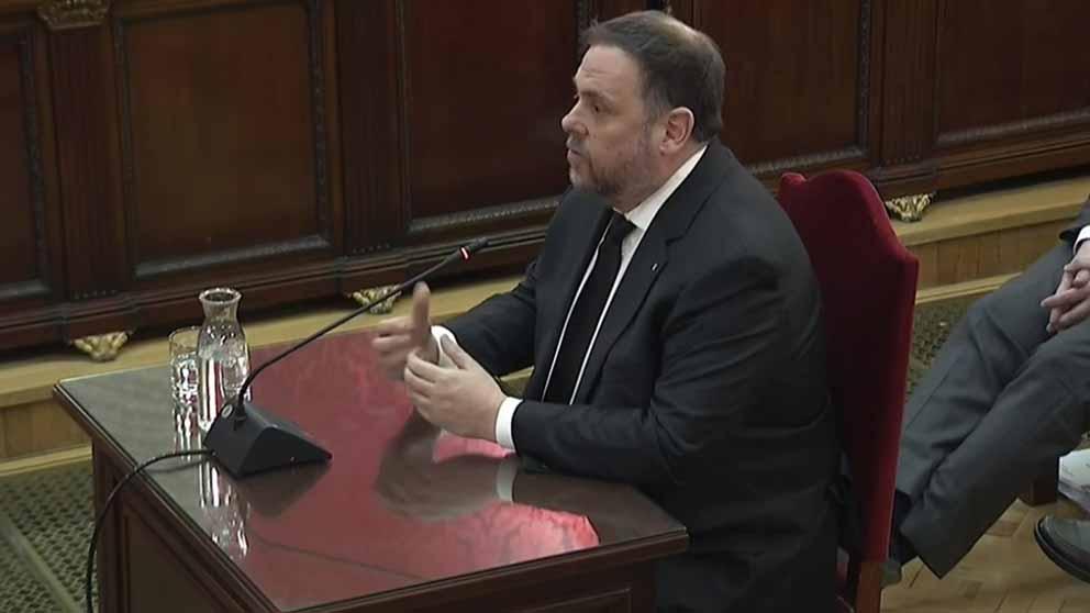 Junqueras, juicio procés | Directo: interrogatorio líderes independentistas Cataluña