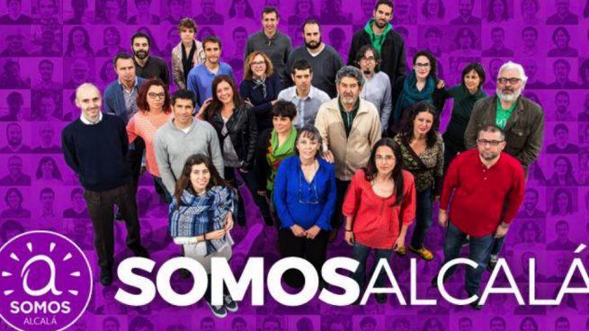 Los ediles de Podemos en Alcalá se suben el sueldo por tercera vez: ya cobran 50.000 €
