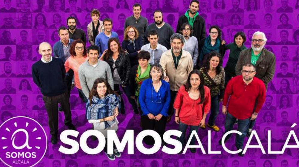 Miembros de Somos Alcalá.