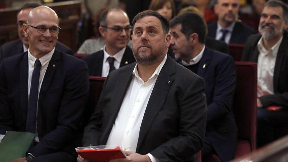 Oriol Junqueras, en el juicio al 'procés' en el Tribunal Supremo.
