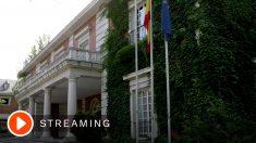 Streaming del Consejo de Ministros.