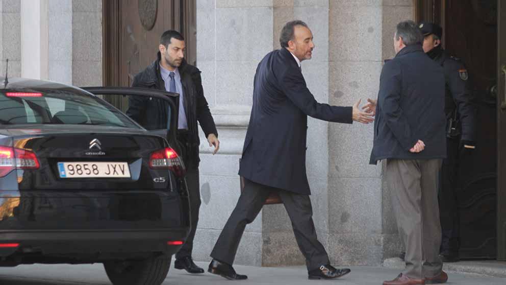 Manuel Marchena entrando en el Tribunal Supremo. Foto: FRANCISCO TOLEDO