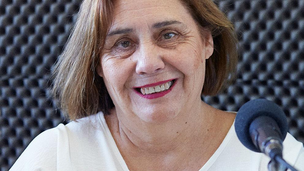 Una de las protagonistas de Radio Abierta Sevilla.