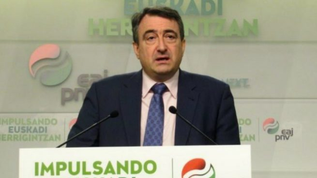 Aitor Esteban, portavoz del PNV en el Congreso. (Foto: EP)