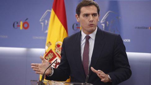 El líder de Ciudadanos en una imagen reciente (EP).