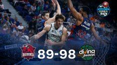 La Joventut dio la sorpresa en los cuartos de final de la Copa del Rey de baloncesto al imponerse a Baskonia por 89-98