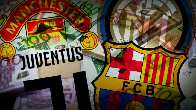 Barcelona, Juventus, Manchester e Inter se lanzan al mercado de bonos para financiarse