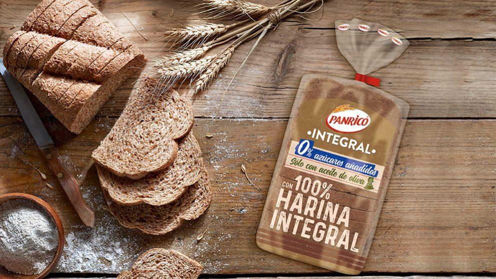 El nuevo pan integral de Panrico no tiene truco: la harina es 100% integral