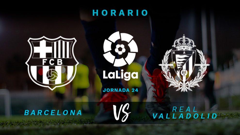 El Barcelona se mide con el Valladolid en el Camp Nou.
