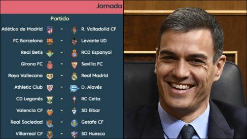 La jornada 35 de Liga Santander coincidirá con las elecciones generales del 28 de abril.