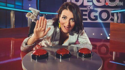 Silvia Abril, presentadora de 'Juego de juegos'