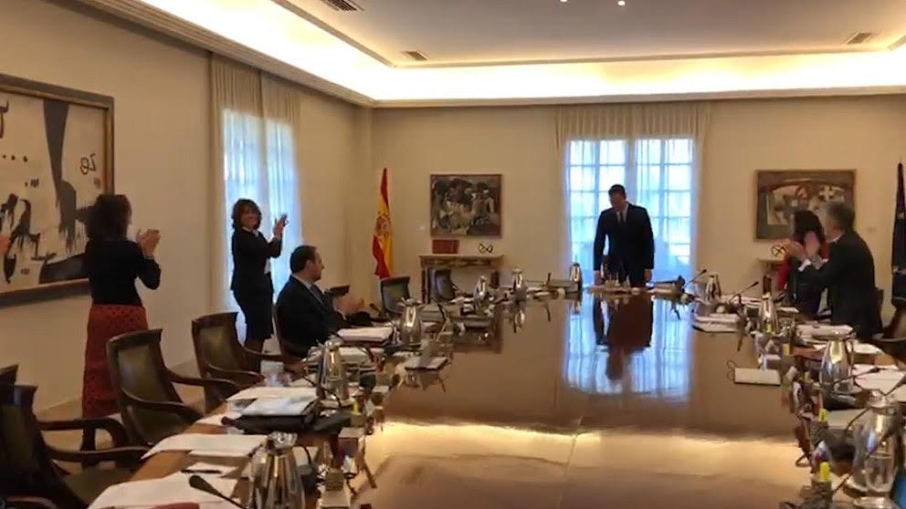 Imagen del Consejo de Ministros de este viernes.