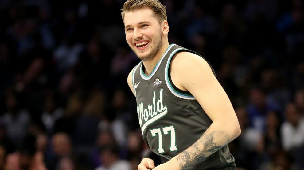 Luka Doncic en el NBA All-Star 2019. (Getty)