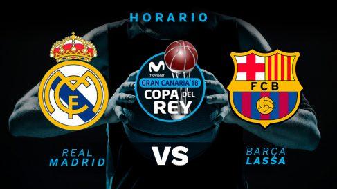 Real Madrid – Barcelona: horario de la final de la Copa del Rey.