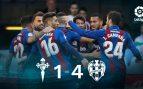 Celta – Levante: resumen, resultado y goles (1-4)