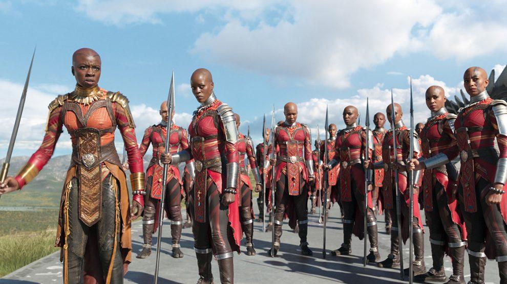 La mujer tiene un gran papel en 'Black Panther' con brillantes actuaciones y un cuerpo militar totalmente femenino.