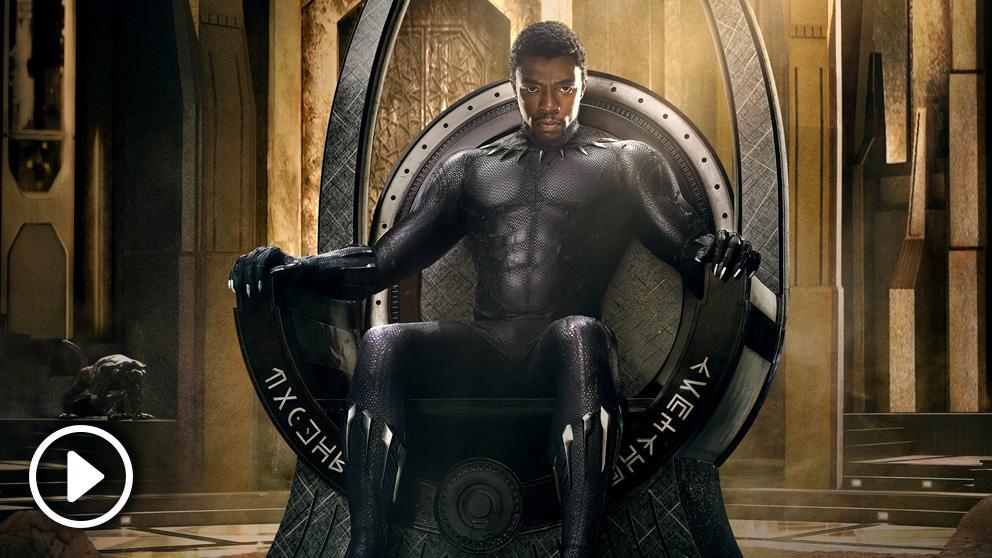 Chadwick Boseman da vida al superhéroe de Wakanda 'Black Panther', la 18ª película del universo Marvel.