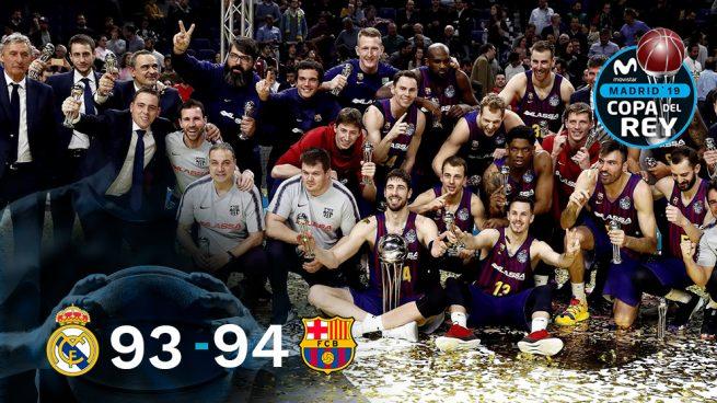 El Barça, campeón de una Copa frenética y polémica