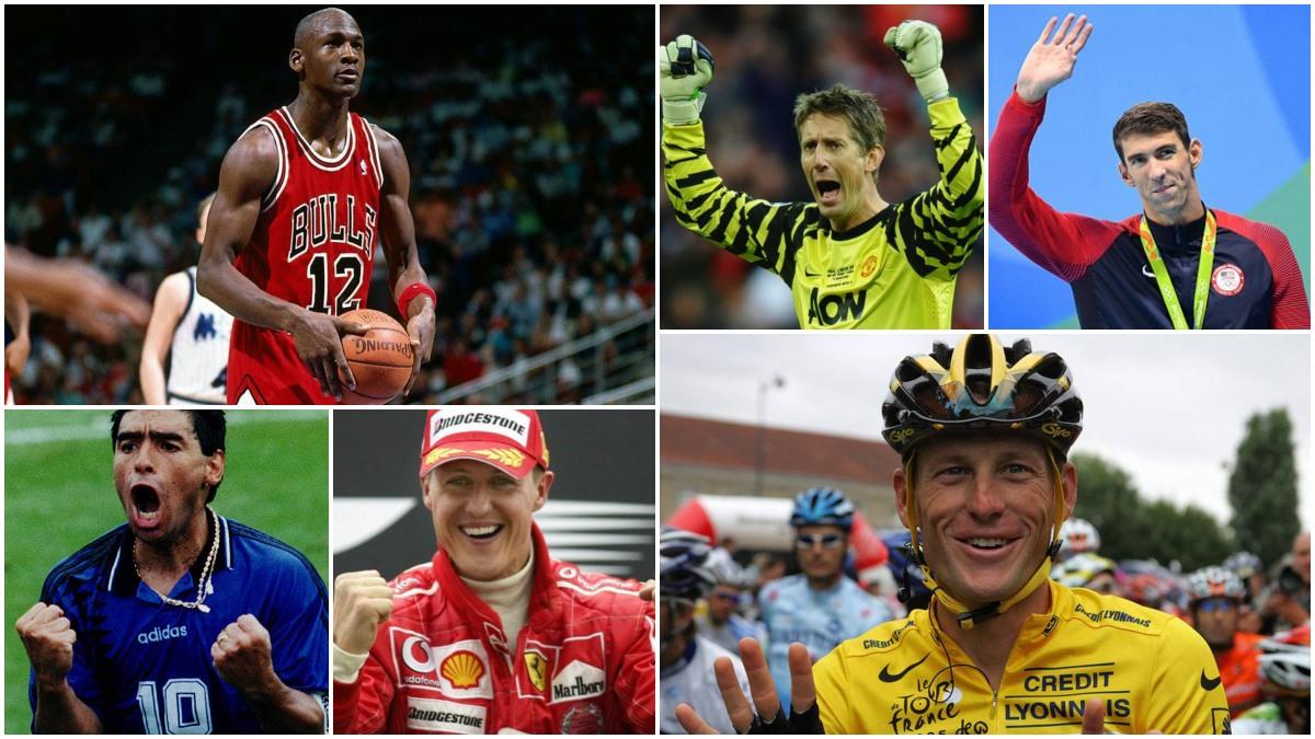 Varios de los casos de deportistas que se retiraron y volvieron a competir después.