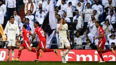 Kroos y Varane se lamentan en el Madrid – Girona (AFP)