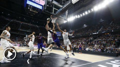 La acción polémica que le dio la victoria al Barcelona. (ACB)